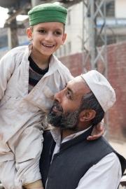 Die Arbeit der Jesuiten in Lahore in Pakistan, hier in der Schule Saint Mary´s High School, Kids Campus während eines Schulfestes Strassenaufnahmen beim Kids Campus. Fotografien aufgenommen im Februar 2014 von Christian Ender