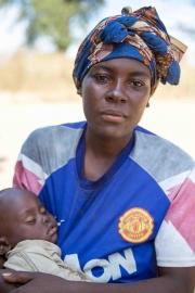 nahegelegenes Dorf Chitsungo Mission in Simbabwe, geleitet von Pfarrer Simoko. Unter anderem wird ein Krankenhaus betrieben. Fotografien aufgenommen im Mai 2013 von Christian Ender in Chitsungo, Simbabwe