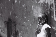 Mädchen in Favela in Rio