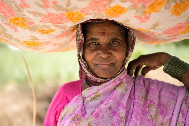 Dorfbewohner beim Transport von Gras als Nahrung für die Tiere. Ashankur Trainigszentrum für Frauen in Indien Die Schwestern des Sacré-Coeur Ordens haben seit 10 Jahren ein Zentrum für Frauen aufgebaut, die hier eine Ausbildung als Krankenschwester oder Schneiderin erhalten. Weiter werden in 20 Dörfern 150 Selbsthilfegruppen unter anderem von Schwester Prisca betreut. Ein Kredit wird den Dorfbewohnern gegeben, um beispielsweise einen kleinen Laden aufzubauen. Fotografien aufgenommen im April 2013 von Christian Ender