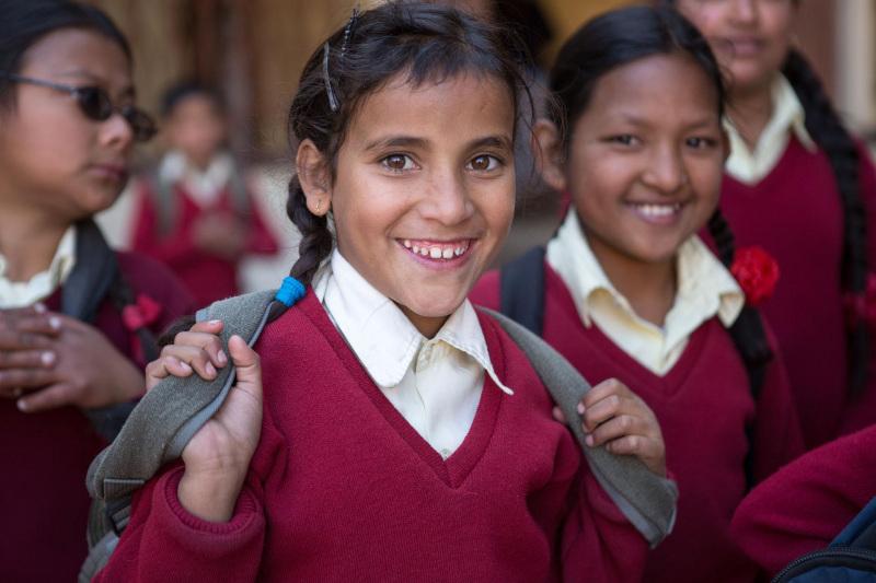 Children in Karuna Bhawan
