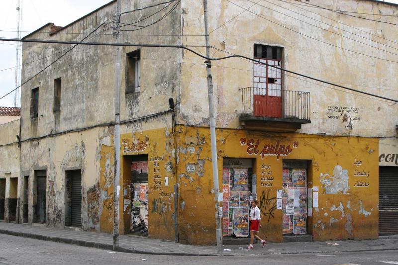 Impression Kleinstadt in Mexico